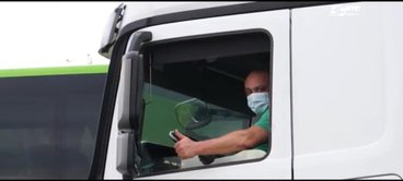 truck driver mask